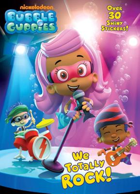 We Totally Rock! Hologramatic Sticker Book By Golden Books Publishing Company (COR)/ Jackson, Mike (ILT)