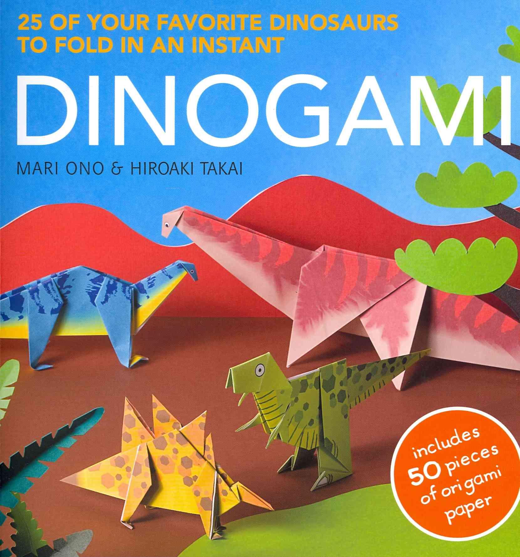 Dinogami By Ono, Mari/ Takai, Hiroaki